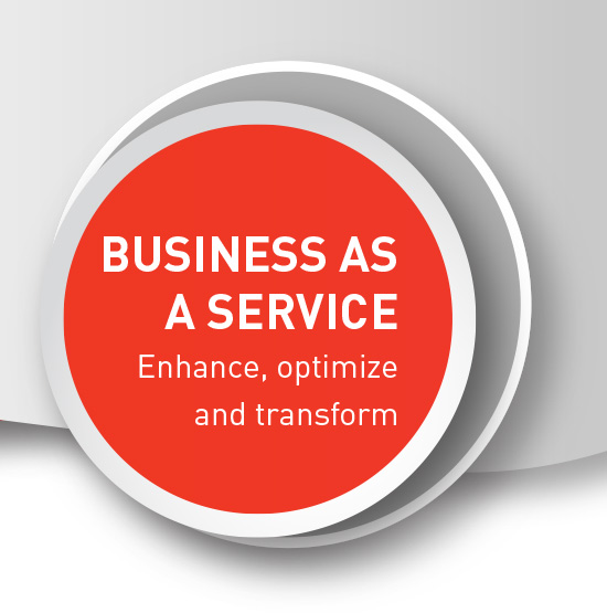 Business as a Service (baas) tailored to specific requirements providing a foundation to run basic business operations.