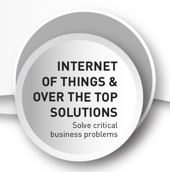 Intelligent devices and smart technology for your business with IoT.