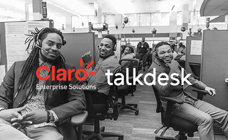 Claro Enterprise Solutions and Talkdesk Partner on CCaaS