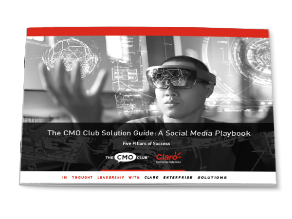 CMO Social Media Playbook: Five Pillars of Success