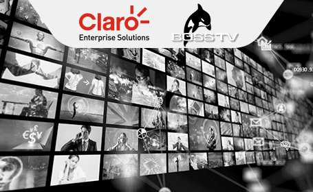 Claro Enterprise Solutions Partners with Boss TV on Content Distribution Network