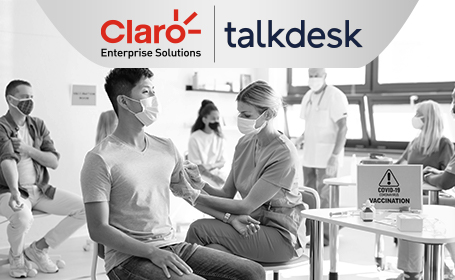 Claro Enterprise Solutions Partners with Talkdesk on COVID-19 Relief